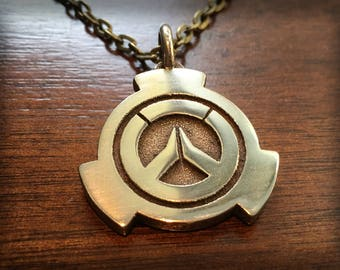 Overwatch Tracer Stainless Steel 3D Printed Pendant Keychain