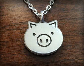 Overwatch Roadhog Stainless Steel 3D Printed Pendant and Keychain