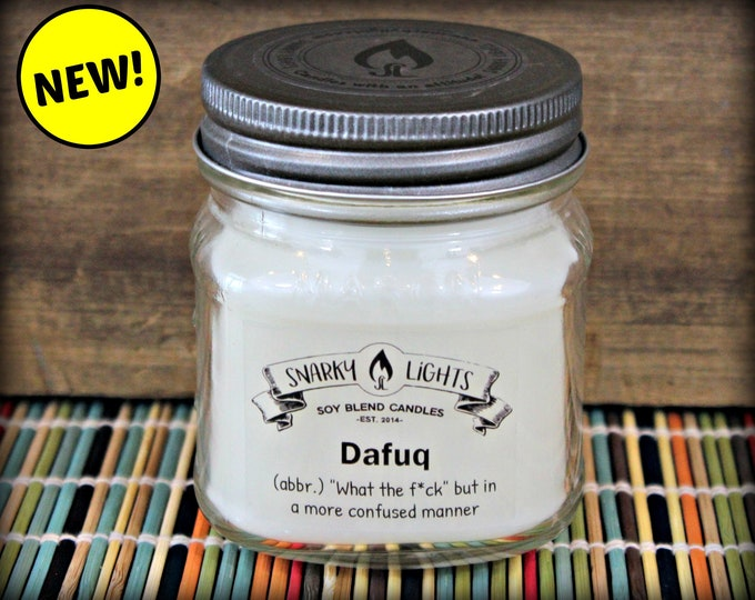 "Snarky Lights || ""Dafuq (abbr): ""What the f*ck"", but in a more confused manner"" 