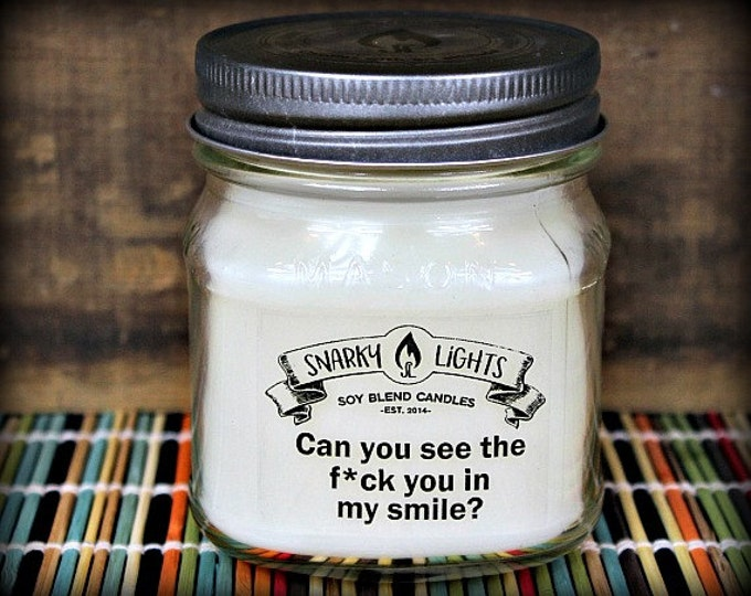 "Snarky Lights || ""Can you see the f*ck you in my smile?"" 