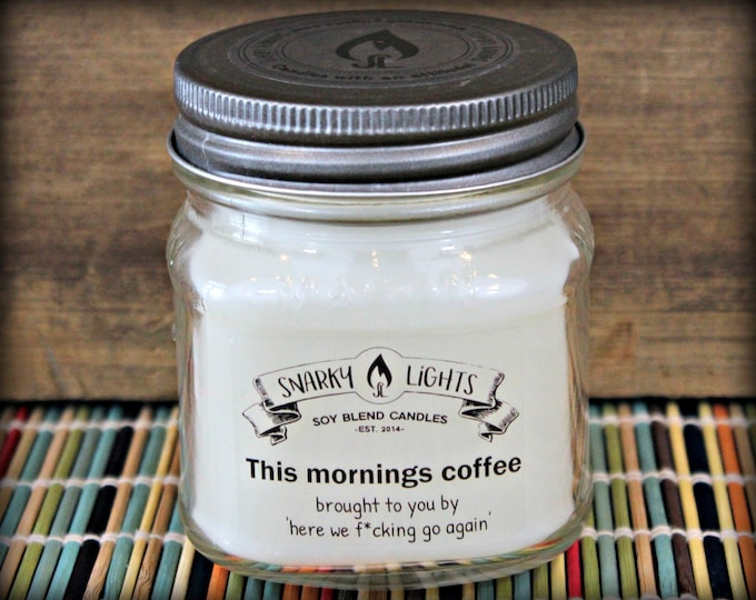 "Snarky Lights || ""This morning's coffee brought to you by...""