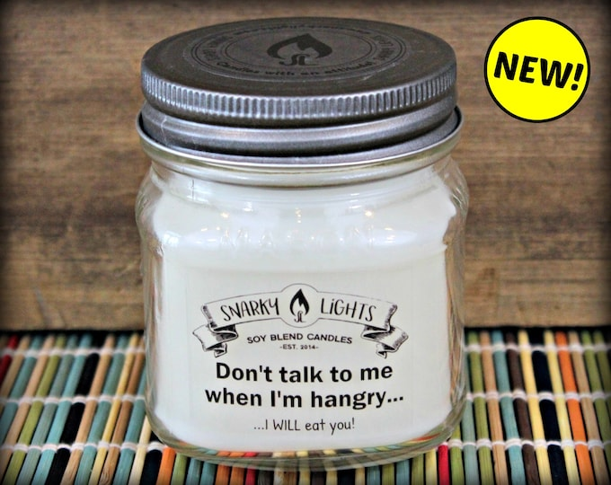 "Snarky Lights || ""Don't talk to me when I'm hangry, I will eat you!"" 