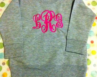 Monogram Toddler Sweatshirt