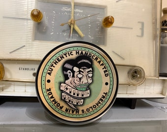 Tremolo's Stiff Dick Firm Hold Hair Pomade 4 oz (bayrum scent)