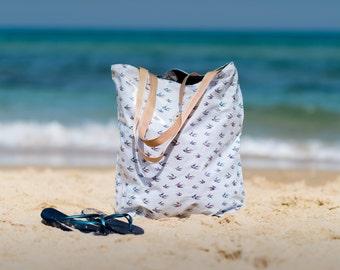 Big beach bag- birds