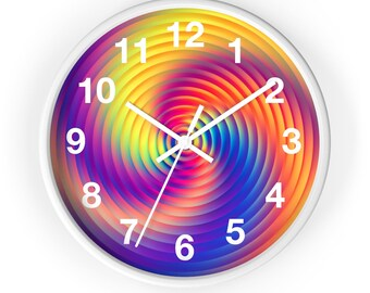 Colorful  Wall Clock  10