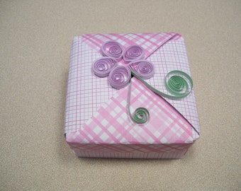 Small paper gift box