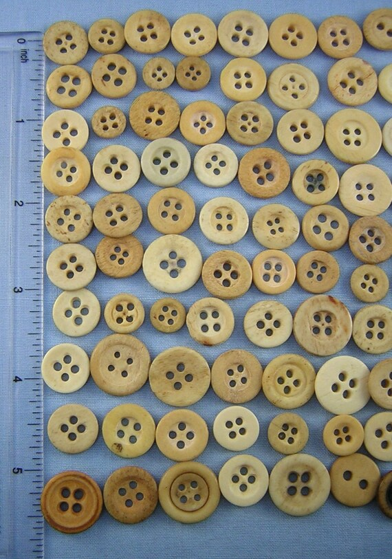 Create Pretty! Craft 50+ Mother of Pearl Sewing Buttons for Quilting No Round Buttons Sew-thru Style Shell BUTTONS: All Linear Shapes