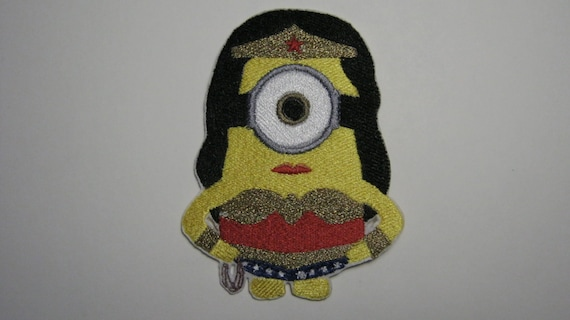 Sew On Patch Badge Minion Minions Iron On