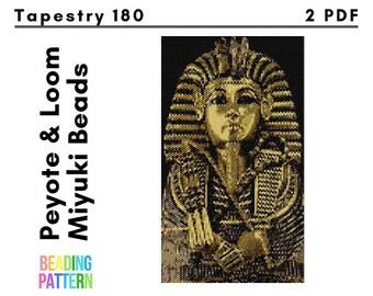 chiropractic symbol loom peyote even pattern 170 beads miyuki pattern tapestry pharmacy symbol image