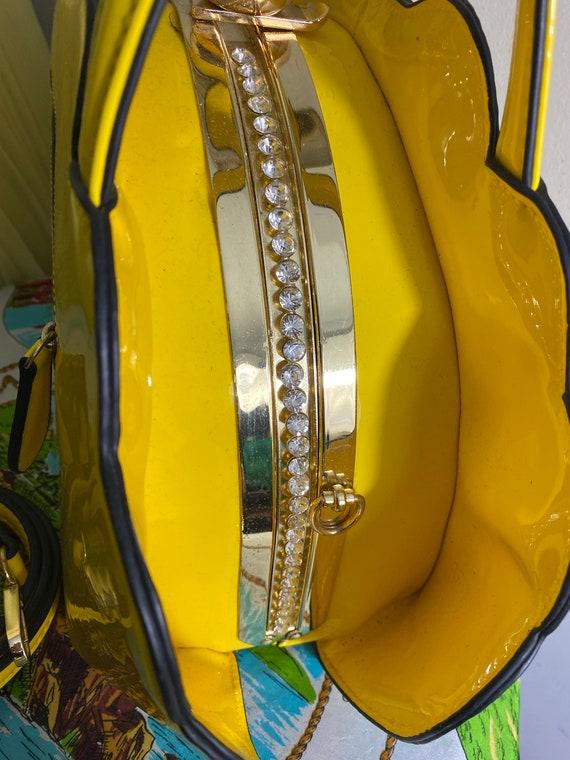 Vintage rainbow purse - image 6
