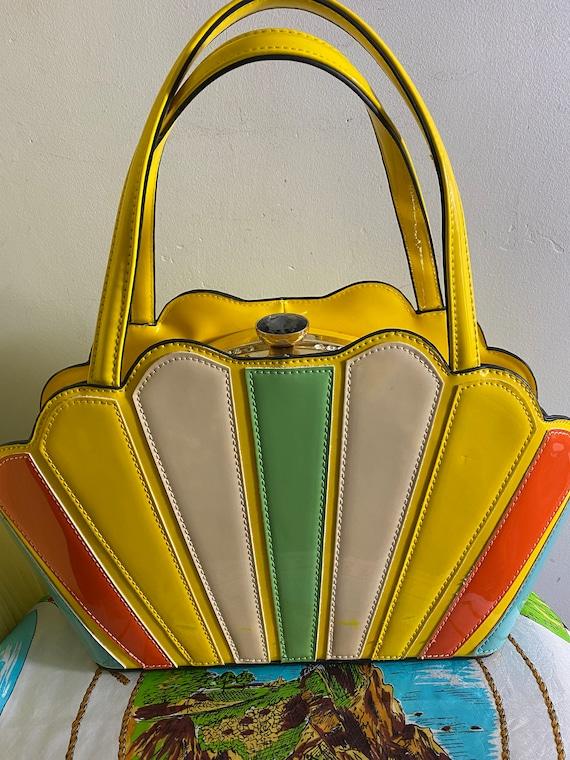 Vintage rainbow purse - image 1