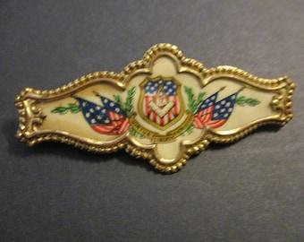 7 Liberal Arts Auto Emblem Lapel Pin Masonic Combo Pack