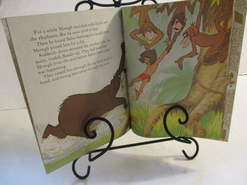 1967 1st Edition Walt Disney's The Jungle Book, A Little Golden Book