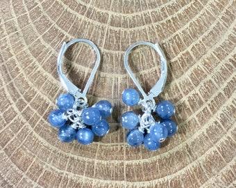 Kyanite Cluster Earrings