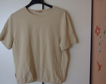 0c0597600 Vintage PRADA Shirt, Made in Italy T-Shirt, Prada Tee, Authentic Prada,  Designer T Shirt, Prada Blouse, Mint Condition Designer Clothing