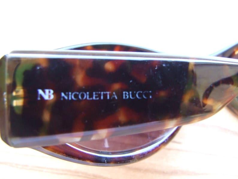 1596665a465d Nicoletta Bucci Sunglasses Tortoise Sunglasses Vintage