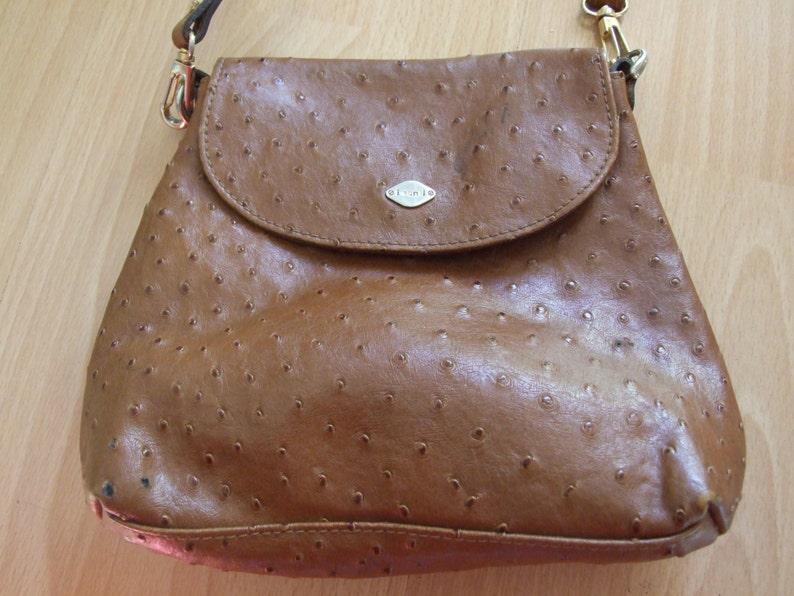 5f32e95fddc6c I Santi Bag projektant torebka Vintage Bag brązowy skórzaną   Etsy