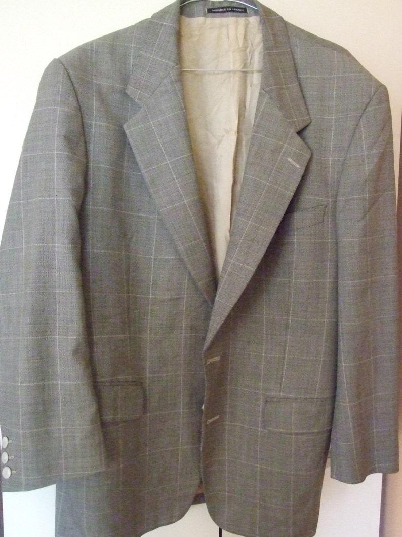 af2f702d76b Yves Saint Laurent Coat Vintage Coat Designer Coat YSL   Etsy
