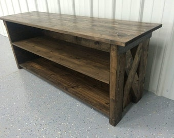 TV Stand , Media Console, Entertainment center / Cabinet , Shelf, New Adjustable Shelves