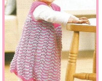 445fb1c1766 Instant Download - PDF- Beautiful Dress and Hat Set Knitting Pattern (100)