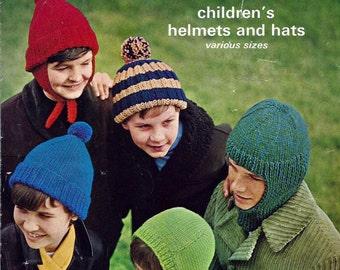 98b8742b74e Instant Download - PDF- Vintage Hat Knitting Pattern (KA1)