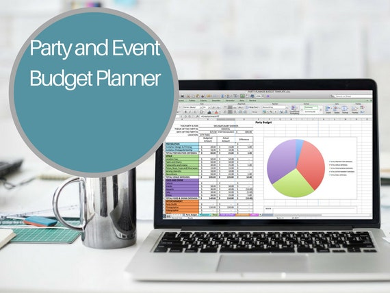 party budget planner excel party planner baby shower budget etsy