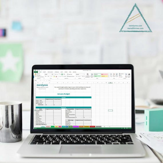 Excel Budget Tabelle Kosten Tracker Familienbudget Vorlage
