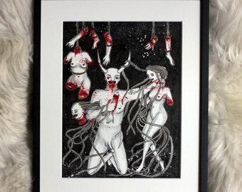 Madame Schröns Inferno, Kreis 3: Der Gefräßige