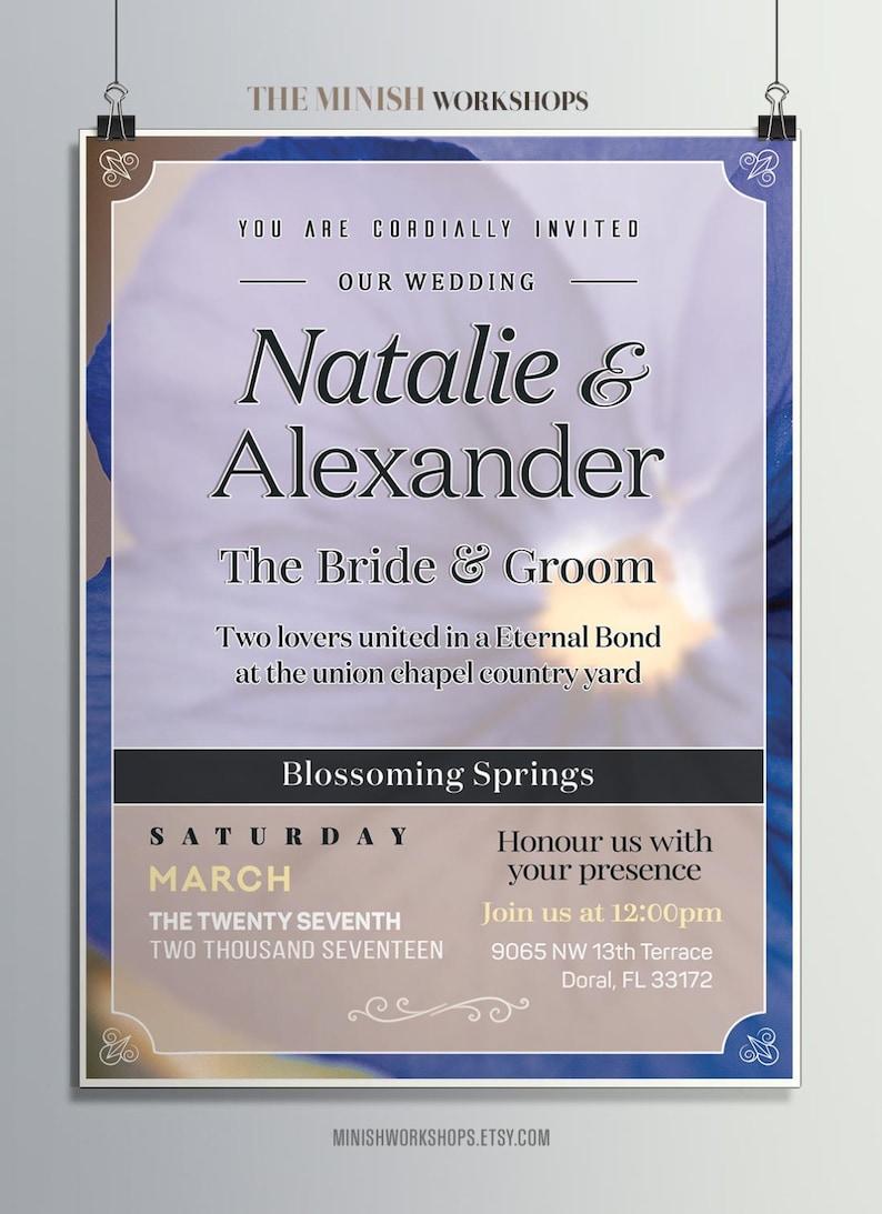 Wedding Invitation Custom Made Invitations Wedding Planner Etsy