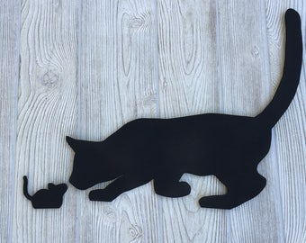 Cat & Mouse Chalk Board