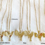 18K Gold Dipped Rooster Necklace In 9 Styles