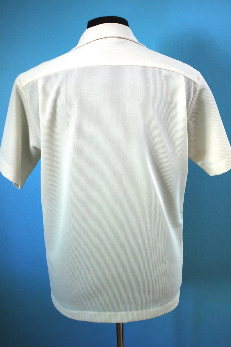 80/'s Shirt    80/'s Surf Motif Button Up Summer Shirt