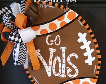 House Divided Football Door Hanger Door Decoration Fall