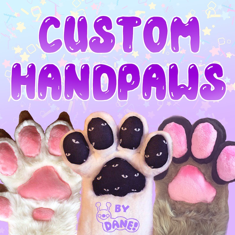 Order Your Own Custom Fursuit Handpaws image 0