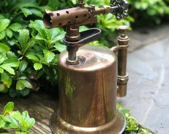 Clayton & Lambert Mfg. Co. Brass Blow Torch