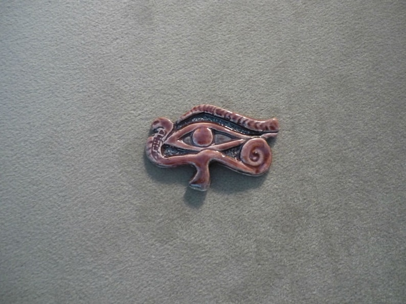 Ceramic Eye of Horus Ra Egyptian Protection Amulet Symbol 280