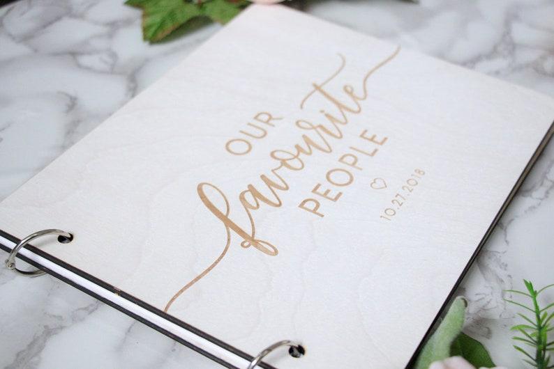 Wooden Book Polaroid Guest Book Memory Book Wedding Guest Book Wooden Guest Book Personalized Guest Book