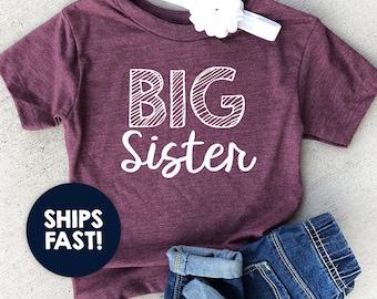 a98822e13 Big sister shirt