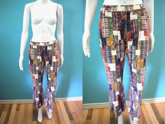 70's Bell Bottom Pants.....70's Women's Low Rise B