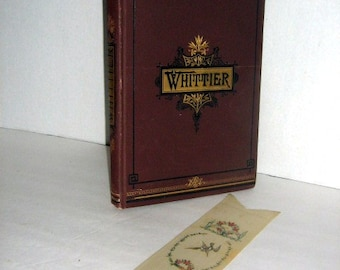 The Complete Poetical Works of John Greenleaf Whittier by Whittier