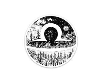 Zodiac Vinyl Sticker Pack Libra edition