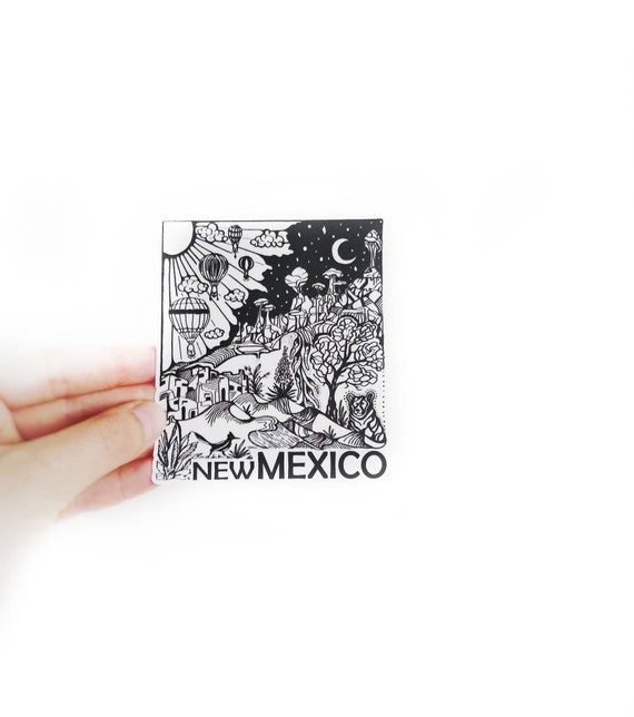 New Mexico State 4 Weatherproof And Durable Outdoor Etsy
