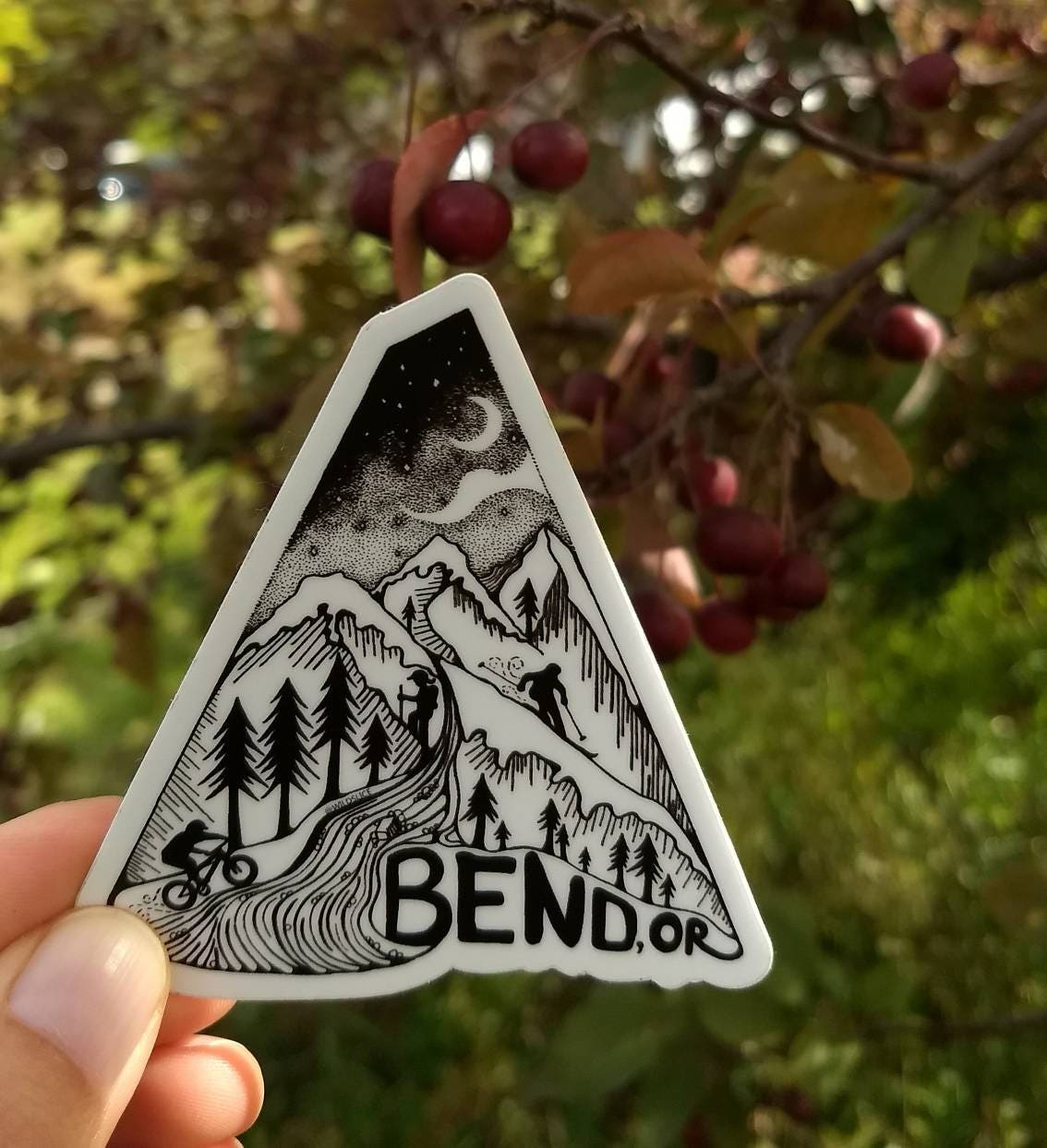 Bend Oregon Stickers