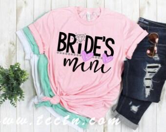 6c6ecceb Bride's Mini little girls shirt | sister of the daughter of the bride  little girls shirt | brides wedding rehearsal top | bridal shower