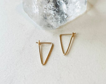 Leave-In Triangle Hoop Tiny Comfortable Leave In
