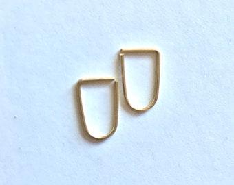 Leave-In Hoop Earrings Modern Every Day SIP