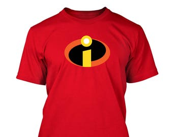 Incredibles family cosplay T-shirt Halloween Costume Shirts Toddler Baby Youth Adult sizes S-5XL