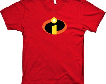 Incredibles T-shirt Mr Incredible family group team Halloween Costume Shirts Toddler Baby Youth Adult sizes S-5XL
