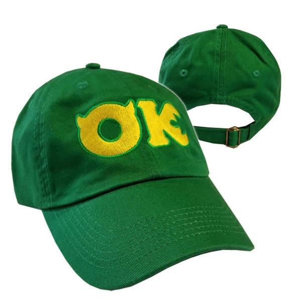 Oozma Kappa Ok Hat Monsters University Halloween Costume Etsy